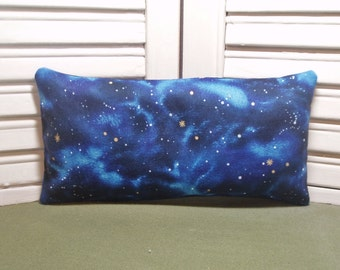 Relaxation pillow, lavender sachet, extra large size, starry nights, mediation, yoga, calming scent, 100% dried lavender only, no fillers