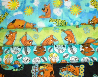 SCOOBY DOO  Fabrics, Sold INDIVIDUALLY not as a group, by the Half Yard