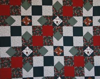Ozark Calico Fabri-Quilt Panel