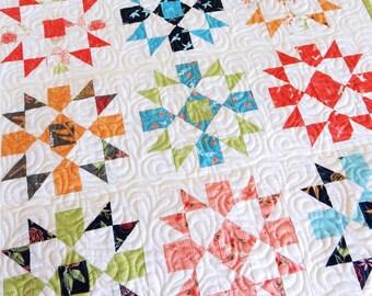 Starry Night Mini Quilt  Pattern