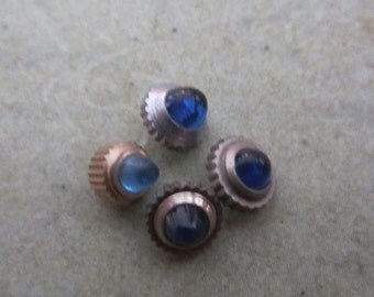 Vintage Sapphire  Watch parts crowns - Steampunk - Scrapbooking L62