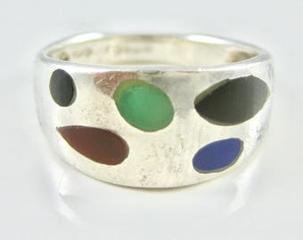 Size 6 1/2 Vintage Sterling Silver Ring Band
