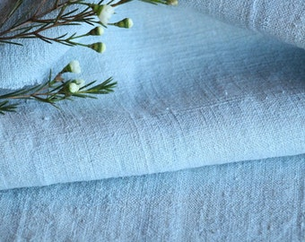 R 576 antique handloomed,lin FADED MINT GREEN 7.65 yards ;by 18.50inches ;리넨 ,cushion, pillow, french lin,upholstery fabric