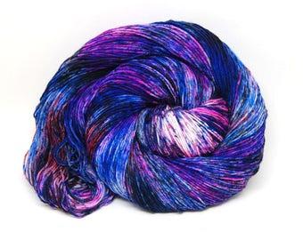 """Hardcore Sock Yarn - """"Galaxy"""" - Handpainted Superwash Merino - 463 Yards"""