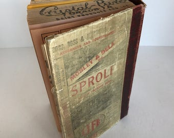 1930s Fort Worth Texas Phone Book