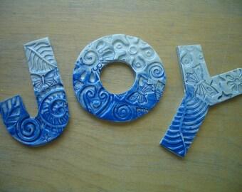 Ceramic Tile Letters Etsy