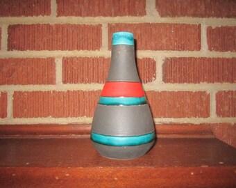 Vintage Mid Century Modern German Pottery Vase