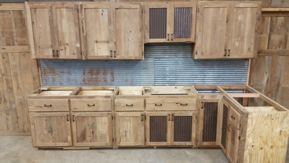 custom rustic kitchen cabinets your custom rustic barn wood kitchen cabinets free shipping 14386