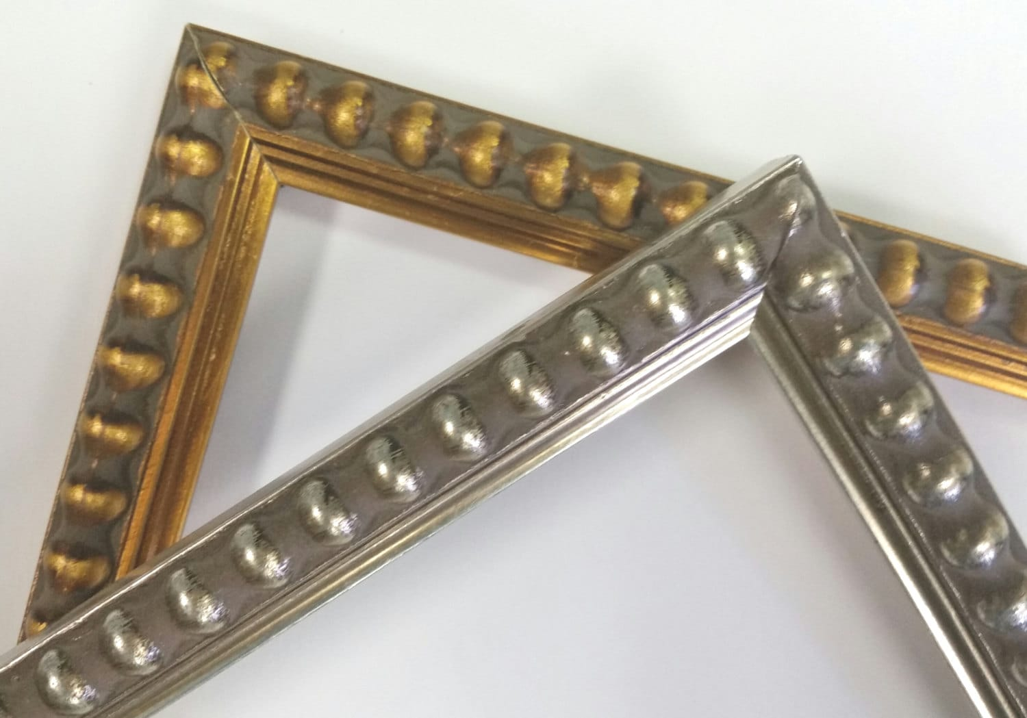 8 x 10 12 x 16 beaded gold silver picture frames photo frames sold by dreesefineart jeuxipadfo Image collections
