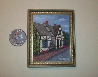 Mini English Tudor Painting