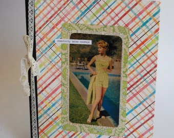 Upcycled Notebook, Journal, Fashion