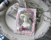 Mother's Day Card - Happy Mother's Day - Victorian Mom Card -