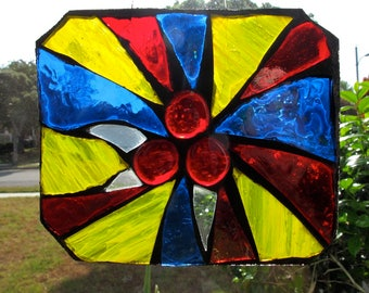 Stained Glass Mosaic Suncatcher