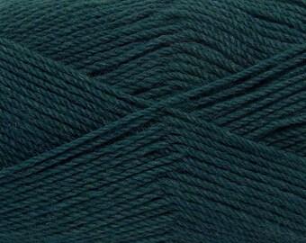 Dark Teal - Light Weight Sock Knitting Yarn, 50-gram balls