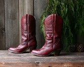 Womens Frye Western Boots Bohemian Fashion Size 7.5 Vintage From Nowvintage on etsy