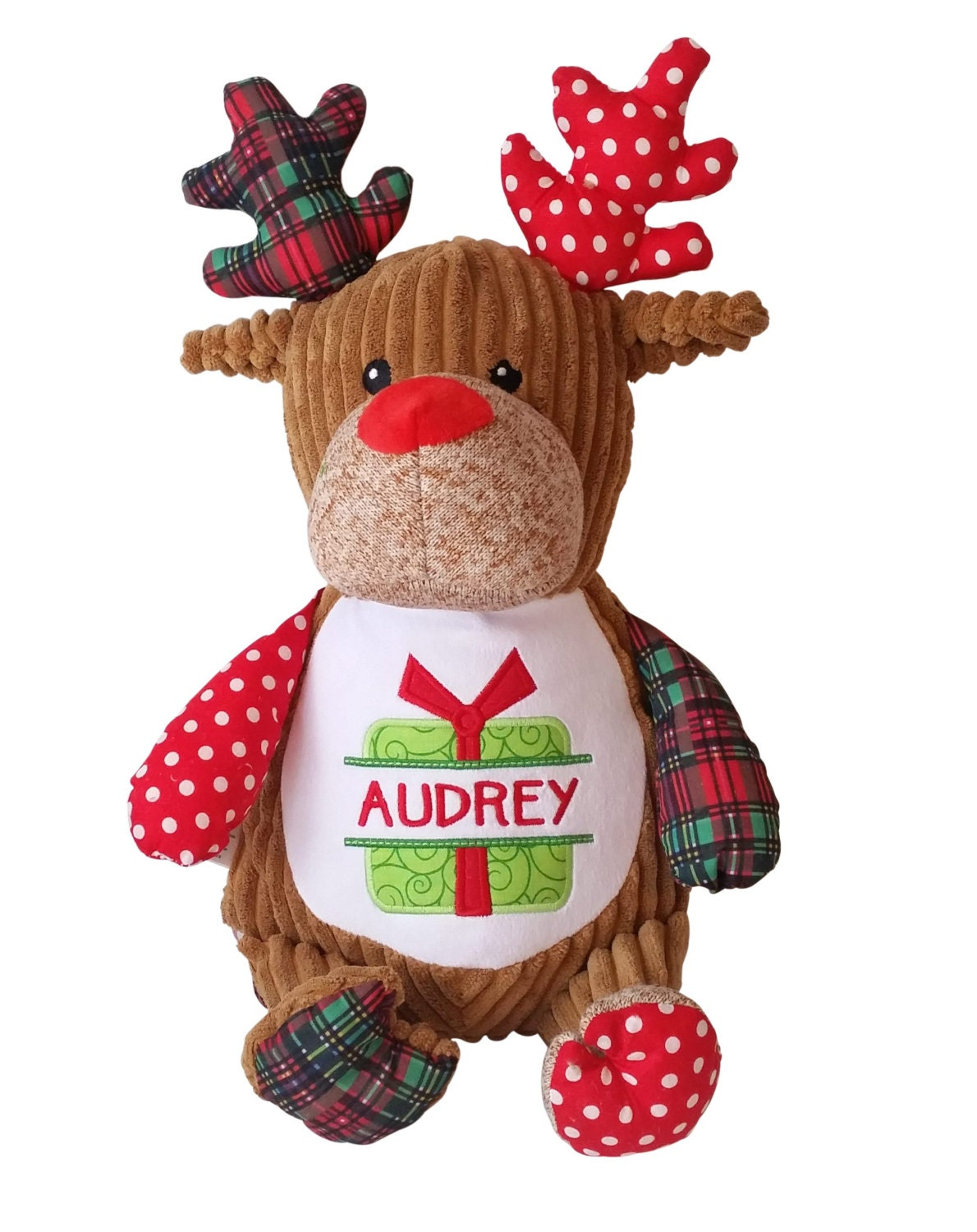 Personalized Baby's First Christmas Gift Soft Plush