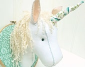 Unicorn Head Kit, Faux Taxidermy, Unicorn Trophy Head Kit