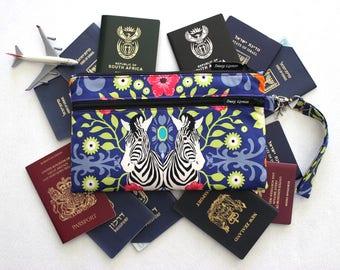 Family Travel Wallet - Travel Document Organizer - Family Passport Wallet - Large Passport Holder - Boarding Pass Wallet Large Passport Case