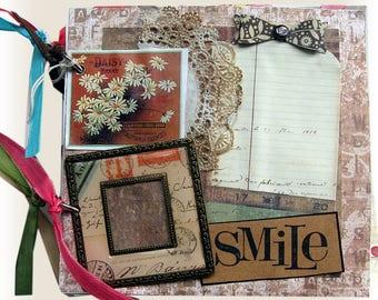 Mini Scrapbook, Photo Album, Birthday Album, Family Album, Graduation Gift, Wedding Gift, Best Friend Album, Photo Journal, Memories