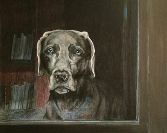 For Your Custom Pet Portrait Acrylic Painting