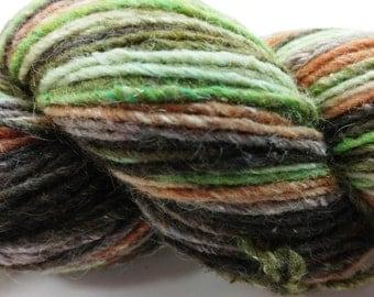 Cascade, Casablanca, Wool, Silk, Mohair, DK, Camo, Greens, Browns, Color 8