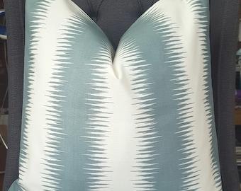 Bluish Gray Geometric Pillow Cover, Decorative Pillow, Throw Pillow, Toss Pillow, Sofa Pillow, Home Decor, Home Furnishing