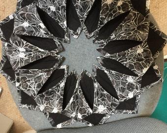 Fold and stitch centerpiece/wreath