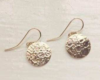 Reef Ripples 14K goldfill Earrings