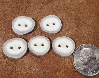Deer Antler Buttons - Matched - Lot No. 170505-GG