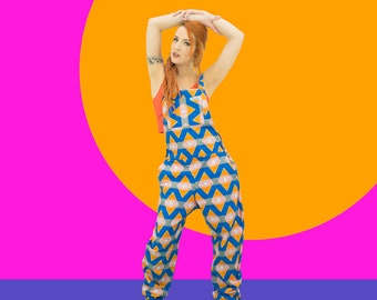 Cotton Print Dungarees / Overalls - Choose your fabric