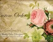 Custom Listing for Carlene