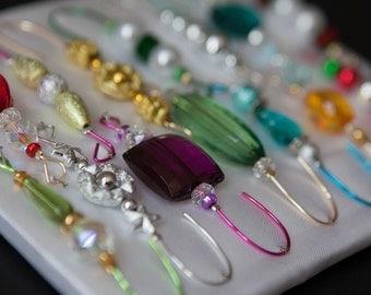 Beaded Christmas Ornament Hanger Hook Assortment - FREE SHIPPING