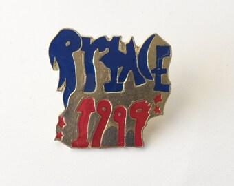 Prince Pin 1999 Enamel Button Pop Music Lanyard Flair Cloisonne