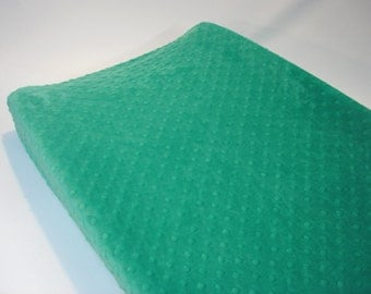 Changing Pad Cover Seaglass Green