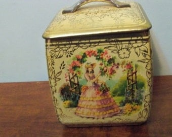 southern bell tin  container england