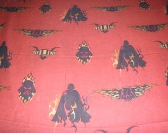 Reclaimed Star Wars VADER TWIN FLAT Sheet - Reclaimed Bed Linens