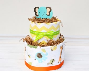 jungle baby shower decorations safari diaper cake neutral jungle baby shower safari shower