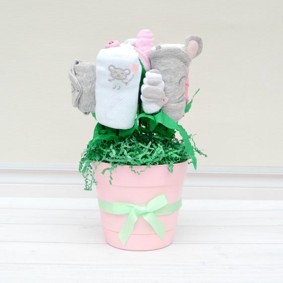 Mint Mouse Medium Blossom