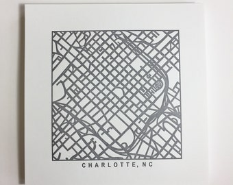 charlotte, or durham pressed prints