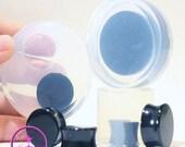 SALE 15% Flat Tunnel Ear Plug Piercing Mold