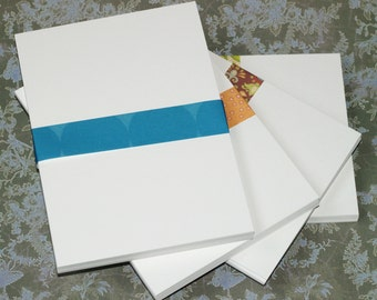50 Oversize 5x7 Postcards ... Bright White 110# Cardstock Smooth Blank Cards Flat Cards Notecards Greetings Invitations Announcements