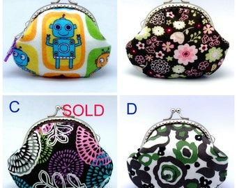 BIG SALE - Small clutch / Coin purse (GP25)