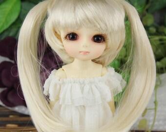 "Fatiao - Dollfie Lati Yellow Pukifee 5-6"" Doll Wig Blonde"