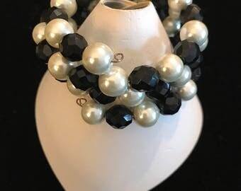 Brides maid  Bracelet and Earrings Set