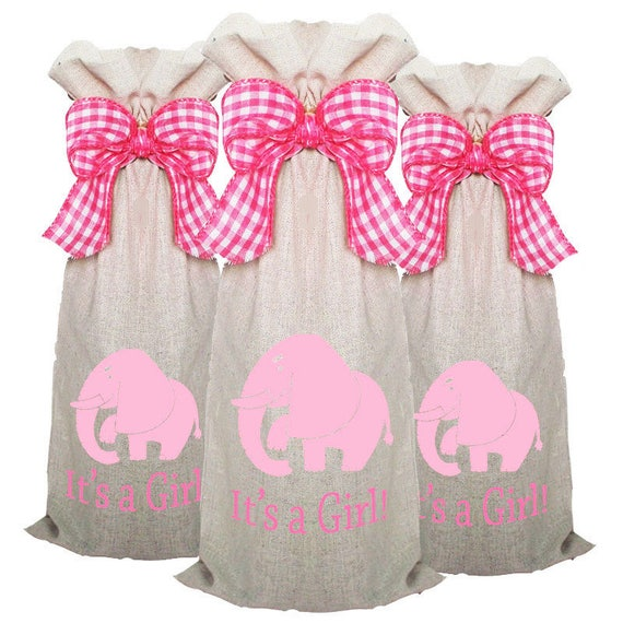 Wine Bags 3 pack, Wine Sacks, Wine Lover Gift, Baby Shower Hostess Gift, Wine Gift, Wine Caddy, Summer party decor