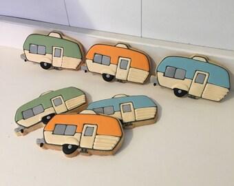 Vintage Rv Trailer Travel Road Trip Retirement cookies