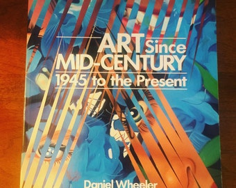 Mid Century Art Coffee Table Book