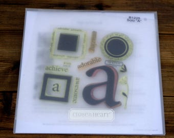 Close to My Heart Acrylic Stamp Set Solo A, B1225
