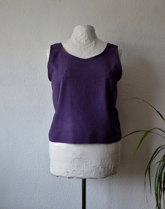 Organic Silk Tank from Ethical Life Store