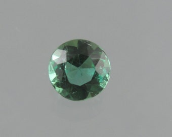 Faceted Green Tourmaline Loose Gemstone SALE HALF OFF
